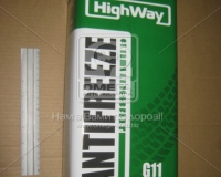Антифриз HighWay ANTIFREEZE-40 LONG LIFE G11 (зеленый) 5кг